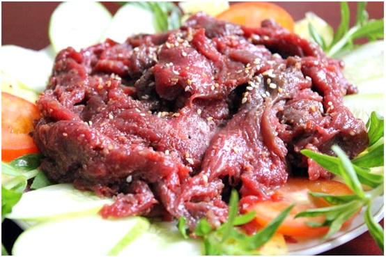 Thịt hươu Hương Sơn